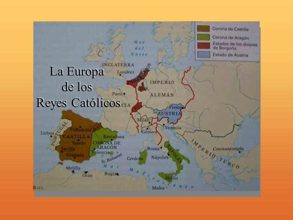 La Europa de los Reyes Católicos