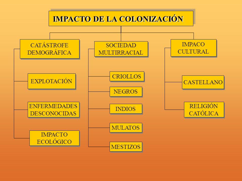 IMPACTO DE LA COLONIZACIÓN