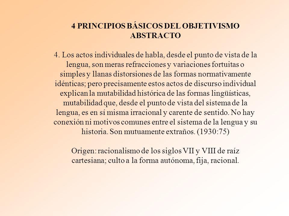 4 PRINCIPIOS BÁSICOS DEL OBJETIVISMO ABSTRACTO