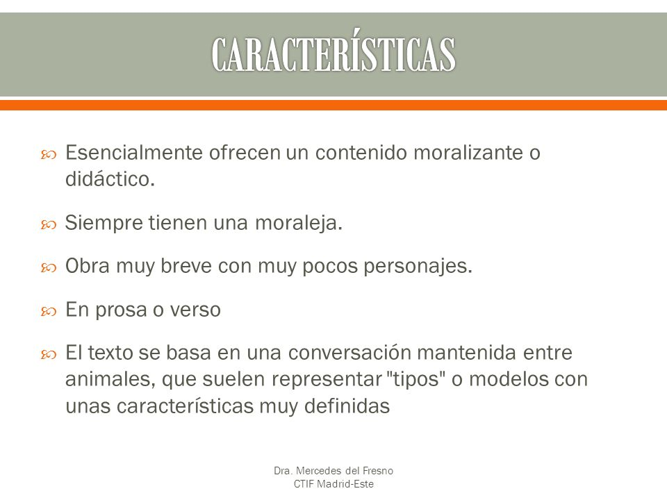 Dra. Mercedes del Fresno CTIF Madrid-Este