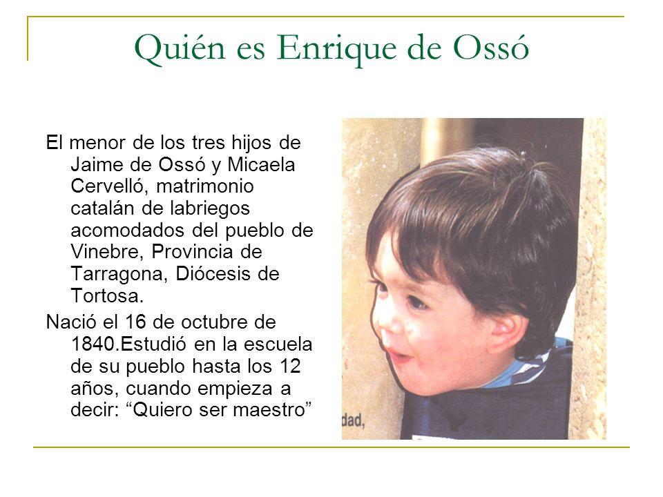 Quién es Enrique de Ossó