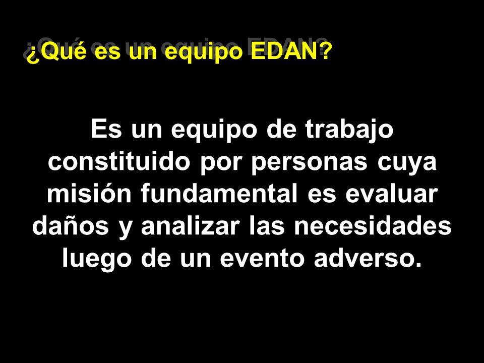 ¿Qué es un equipo EDAN