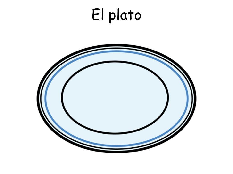 El plato
