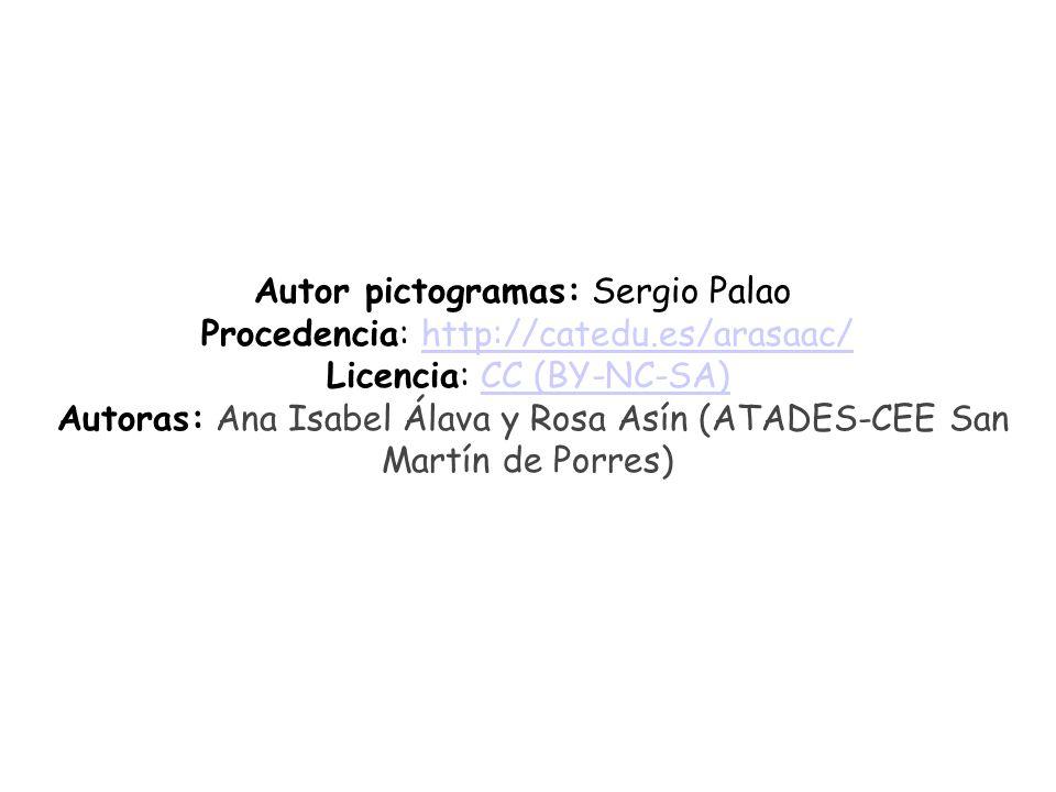 Autor pictogramas: Sergio Palao Procedencia: http://catedu.es/arasaac/