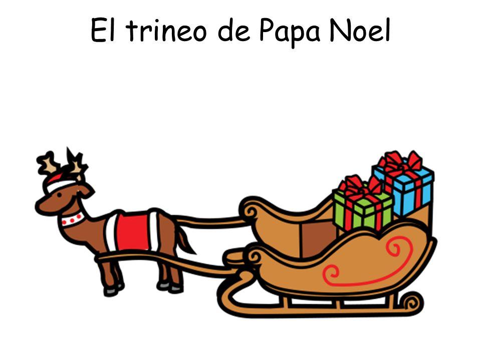 El trineo de Papa Noel