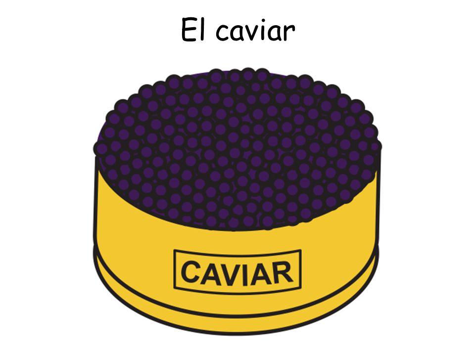El caviar