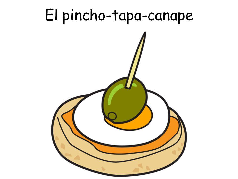 El pincho-tapa-canape