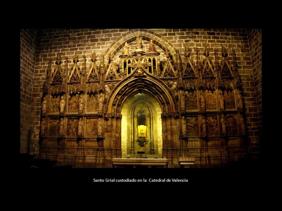 Santo Grial custodiado en la Catedral de Valencia