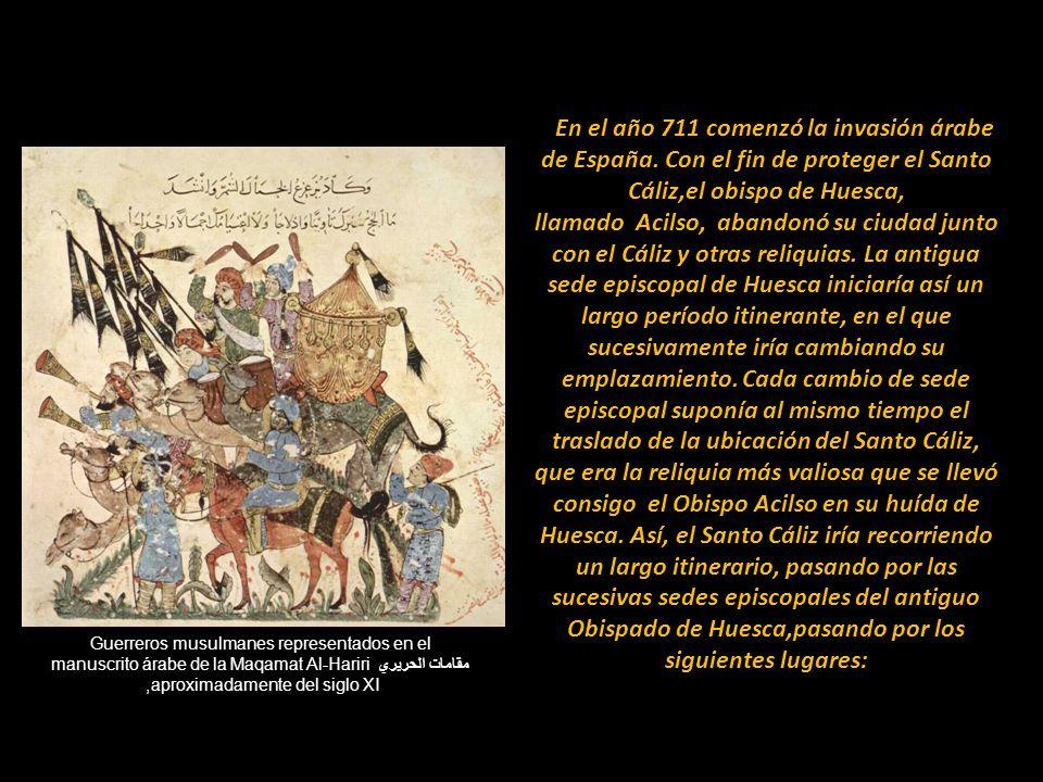 En el año 711 comenzó la invasión árabe de España