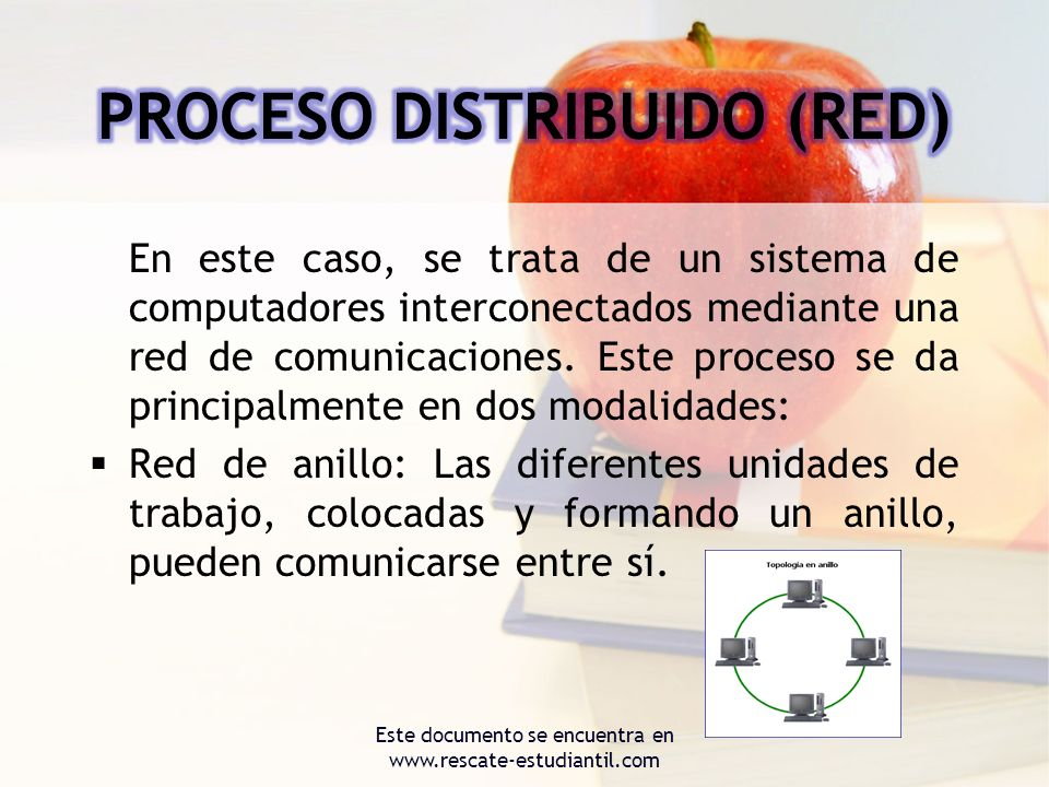 PROCESO DISTRIBUIDO (RED)