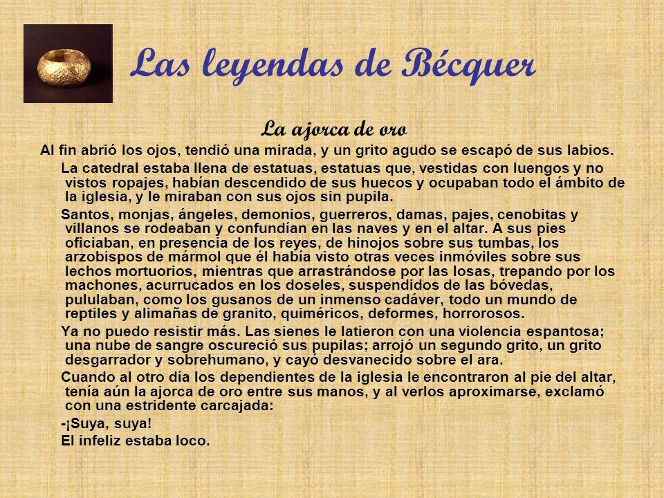Las leyendas de Bécquer
