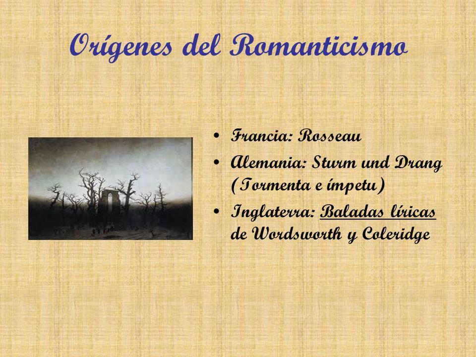 Orígenes del Romanticismo