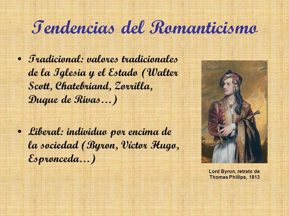 Tendencias del Romanticismo