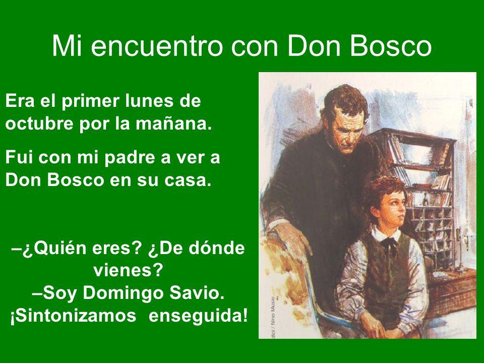 Mi encuentro con Don Bosco