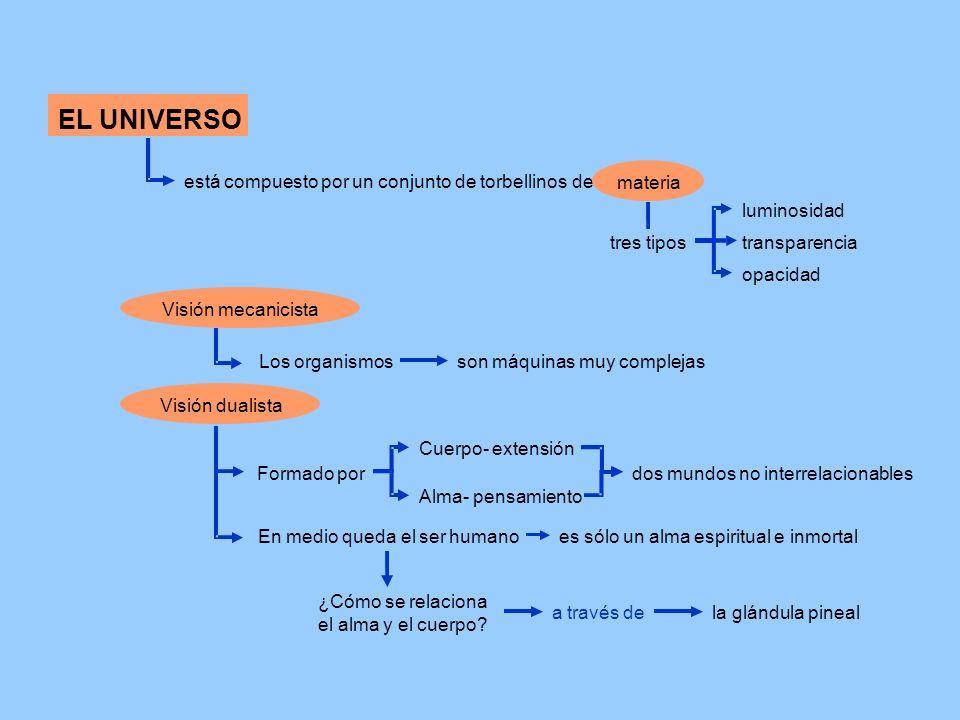 EL UNIVERSO está compuesto por un conjunto de torbellinos de materia