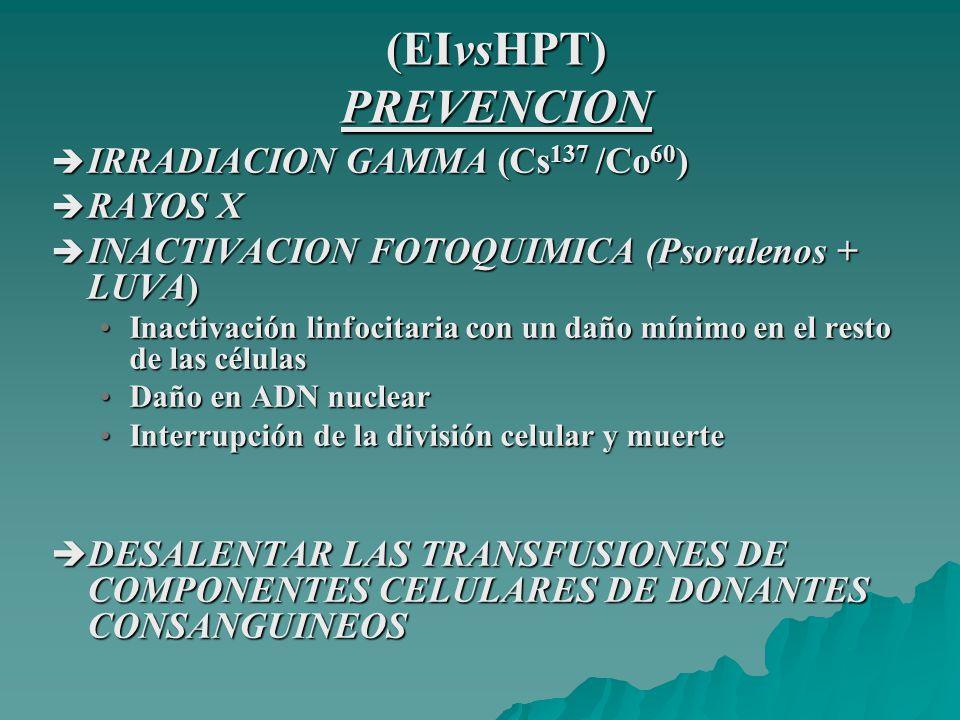 (EIvsHPT) PREVENCION IRRADIACION GAMMA (Cs137 /Co60) RAYOS X