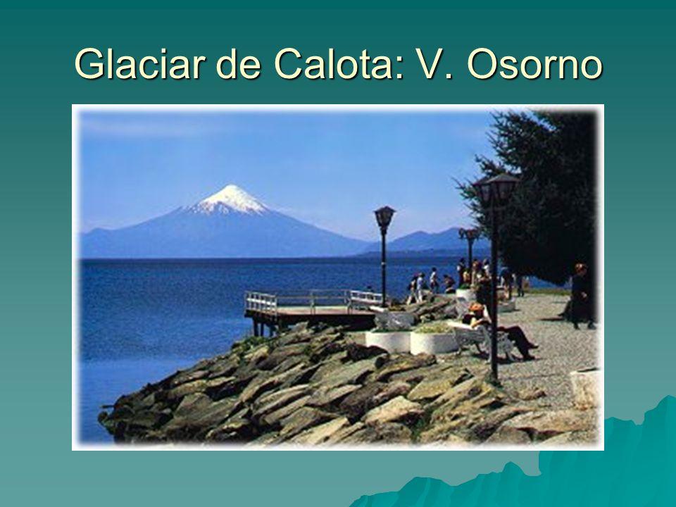 Glaciar de Calota: V. Osorno