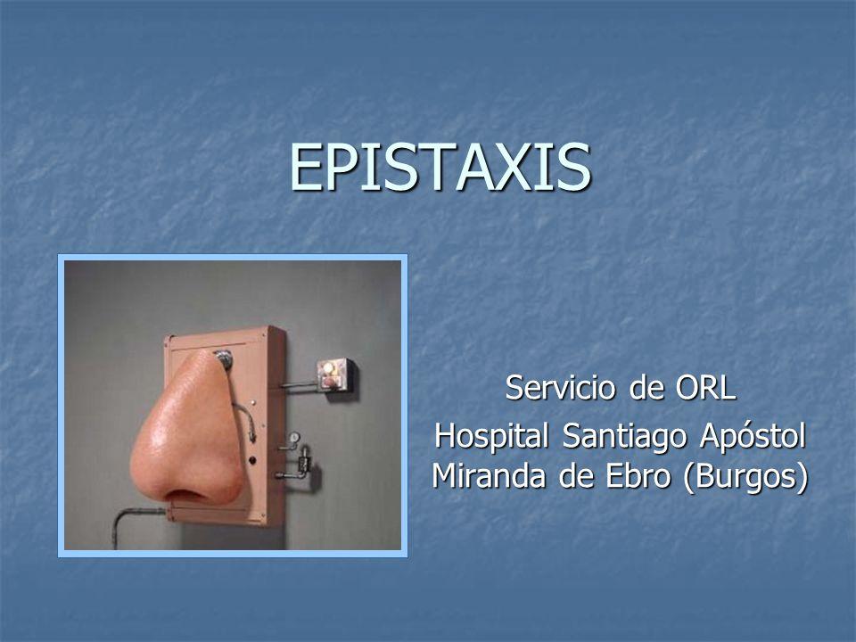 Servicio de ORL Hospital Santiago Apóstol Miranda de Ebro (Burgos)