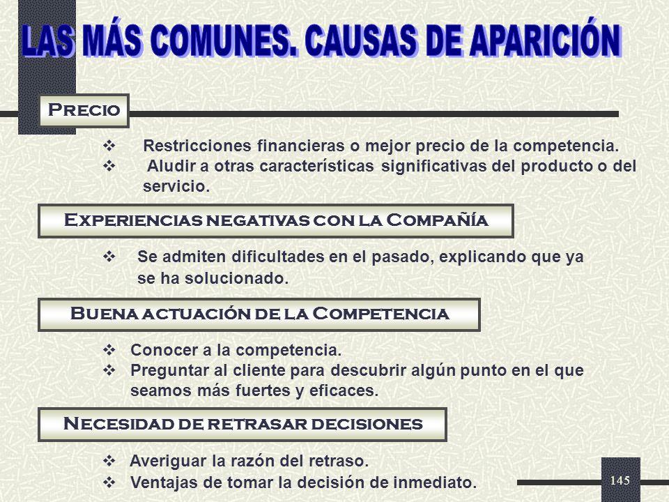LAS MÁS COMUNES. CAUSAS DE APARICIÓN