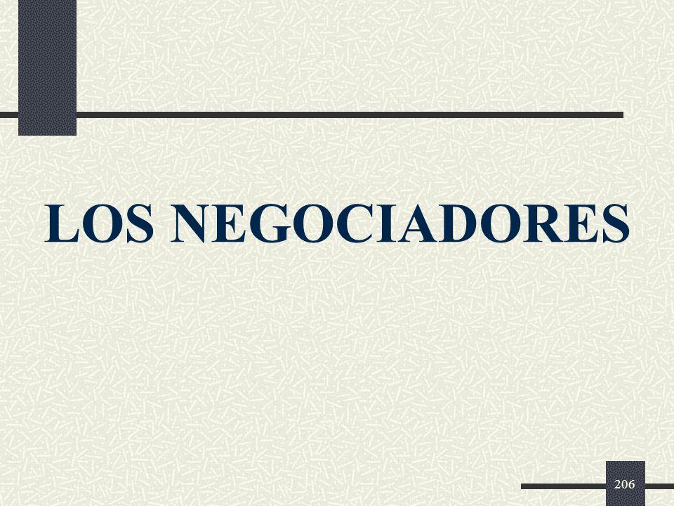 LOS NEGOCIADORES