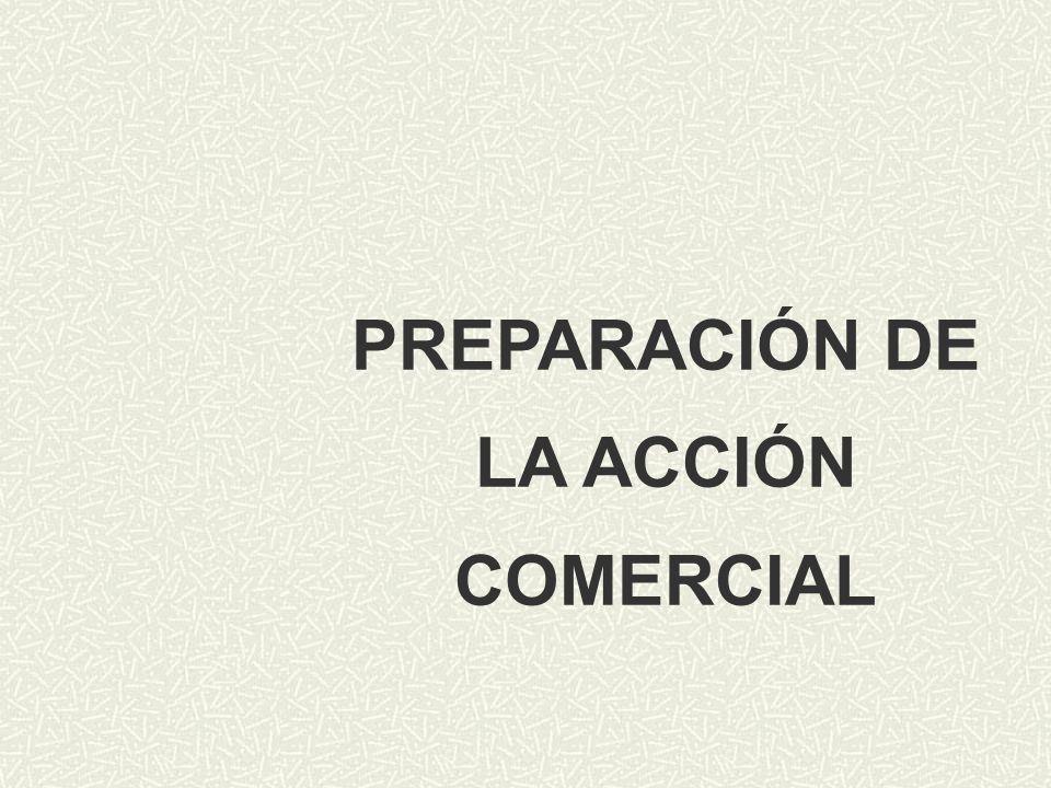 PREPARACIÓN DE LA ACCIÓN COMERCIAL