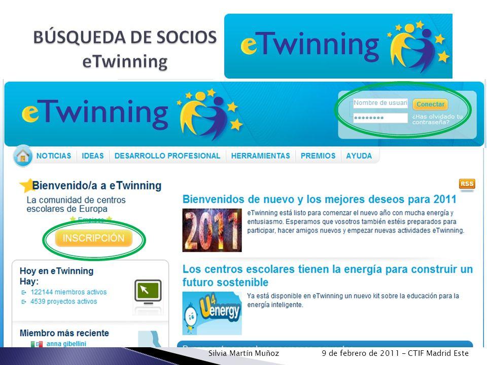 BÚSQUEDA DE SOCIOS eTwinning