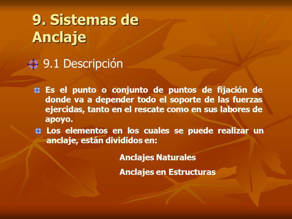 9. Sistemas de Anclaje 9.1 Descripción