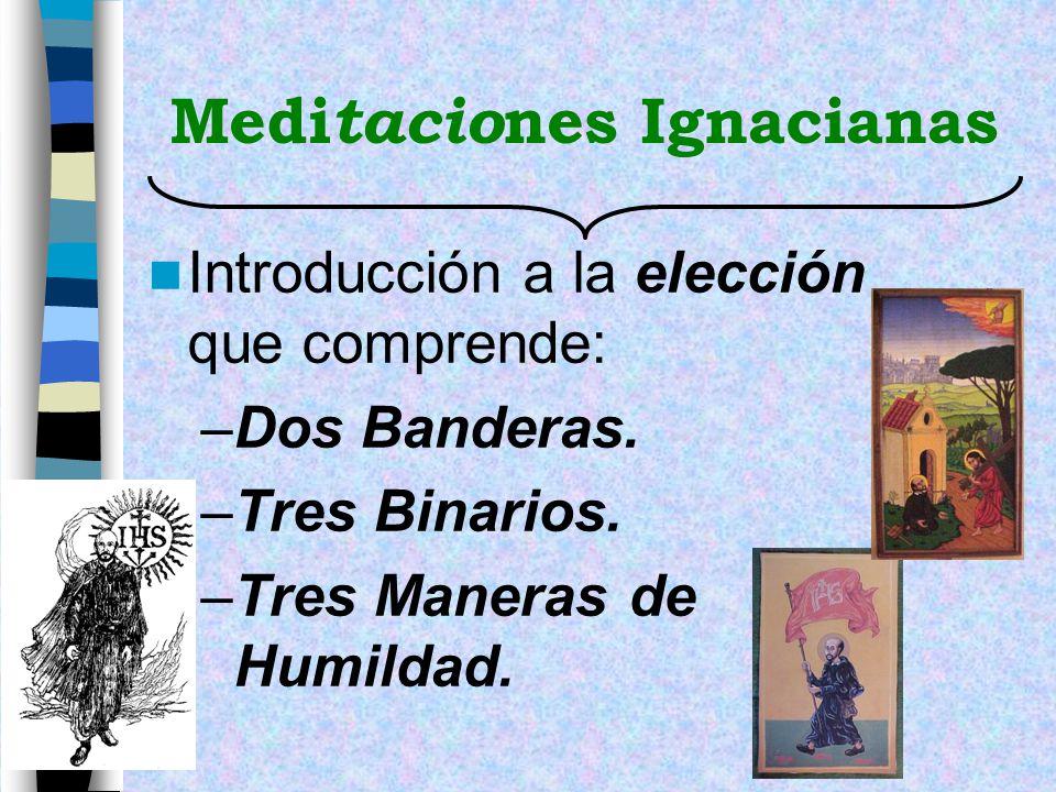 Meditaciones Ignacianas