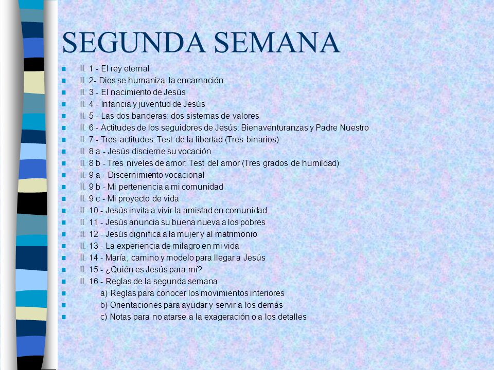 SEGUNDA SEMANA II. 1 - El rey eternal