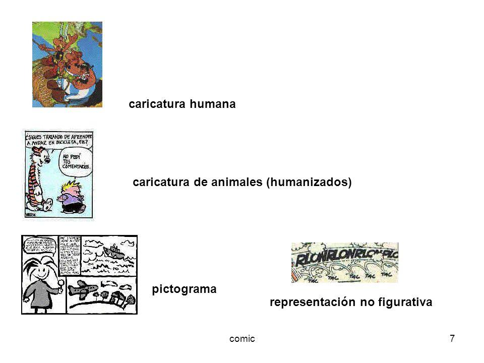 caricatura de animales (humanizados)