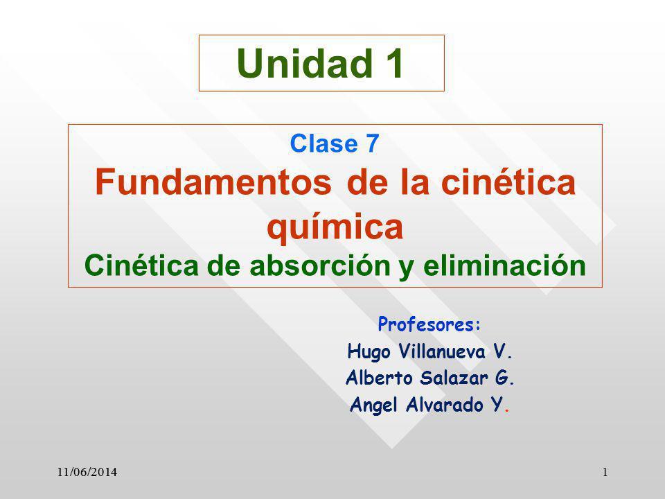 Profesores: Hugo Villanueva V. Alberto Salazar G. Angel Alvarado Y.
