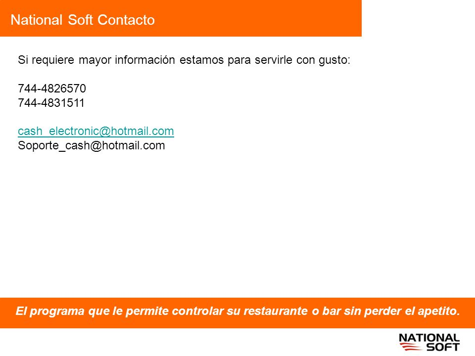 National Soft Contacto