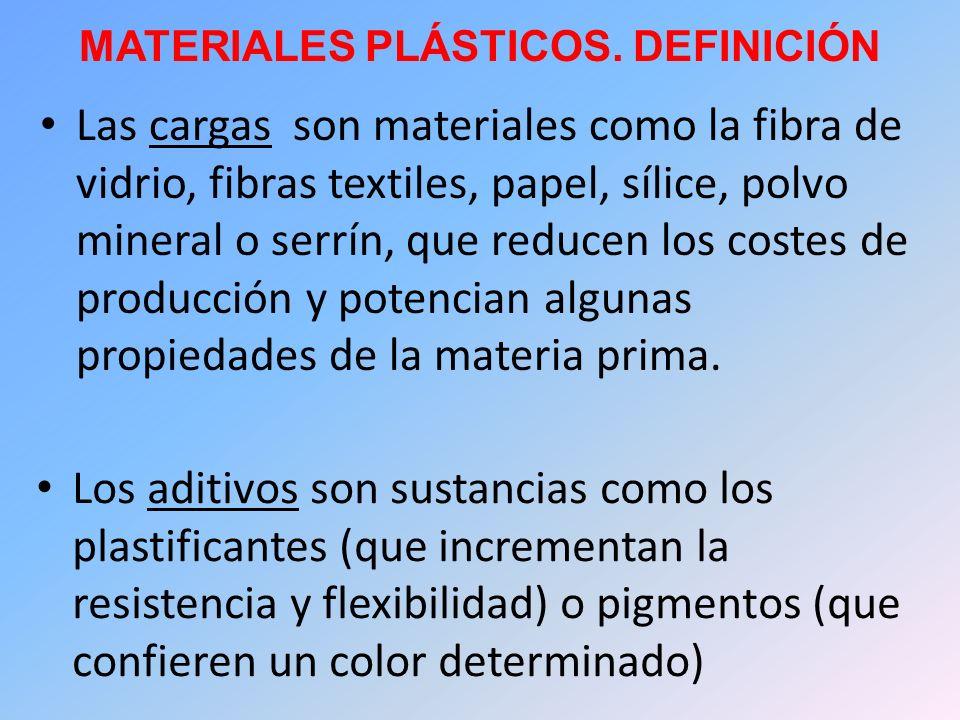 MATERIALES PLÁSTICOS. DEFINICIÓN