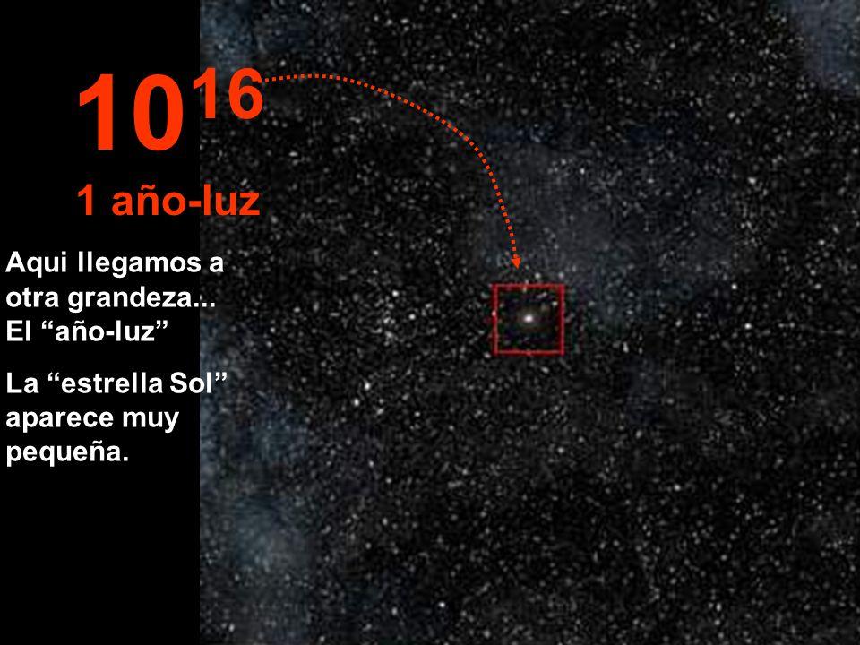 1016 1 año-luz Aqui llegamos a otra grandeza... El año-luz
