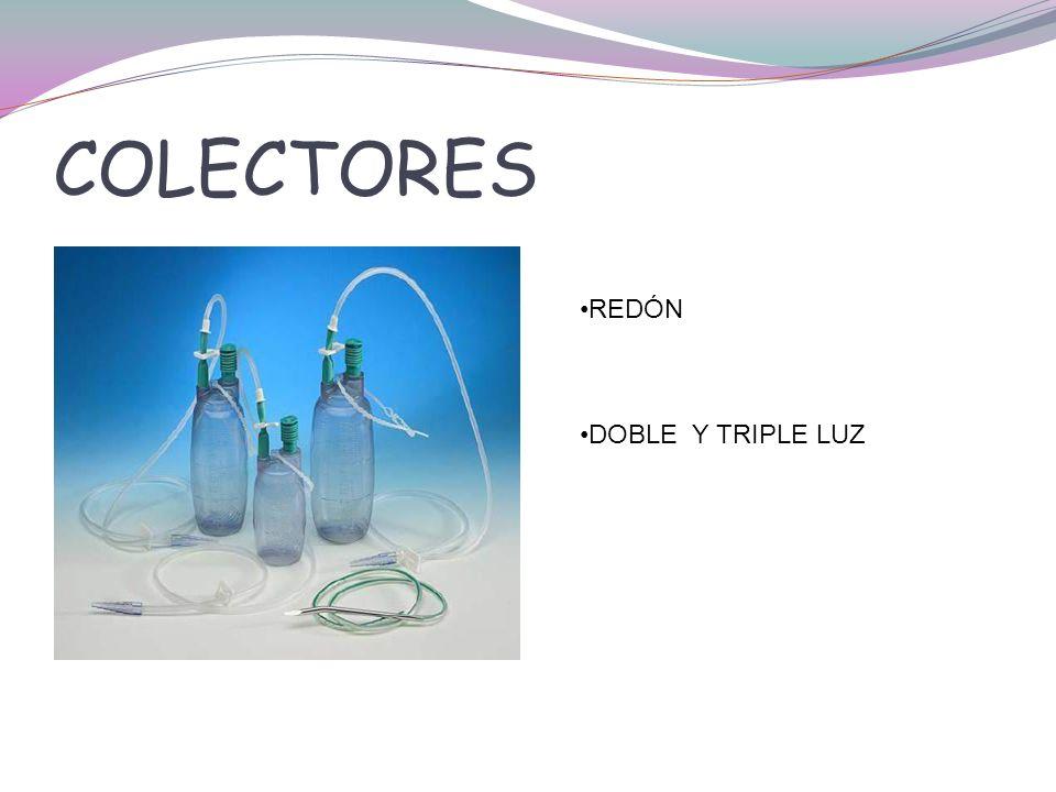 COLECTORES REDÓN DOBLE Y TRIPLE LUZ