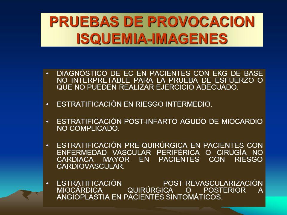 PRUEBAS DE PROVOCACION ISQUEMIA-IMAGENES
