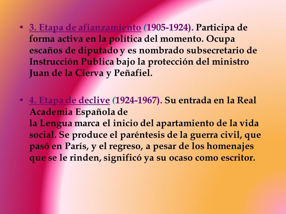 3. Etapa de afianzamiento (1905-1924)