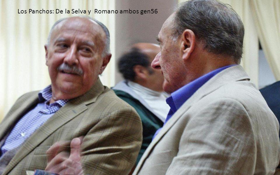Los Panchos: De la Selva y Romano ambos gen56