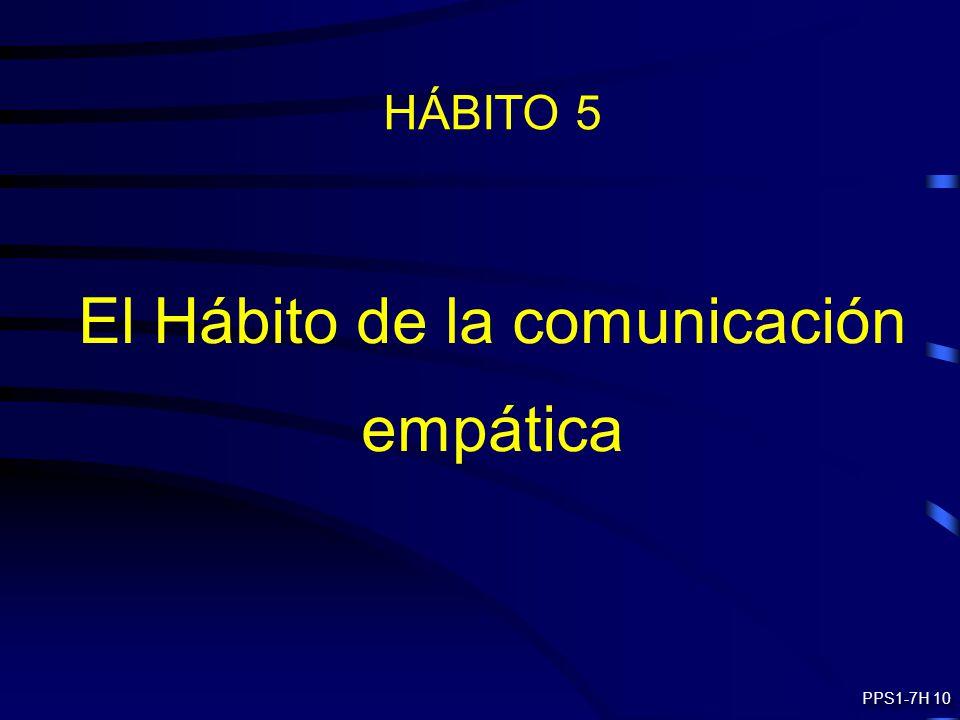 El Hábito de la comunicación