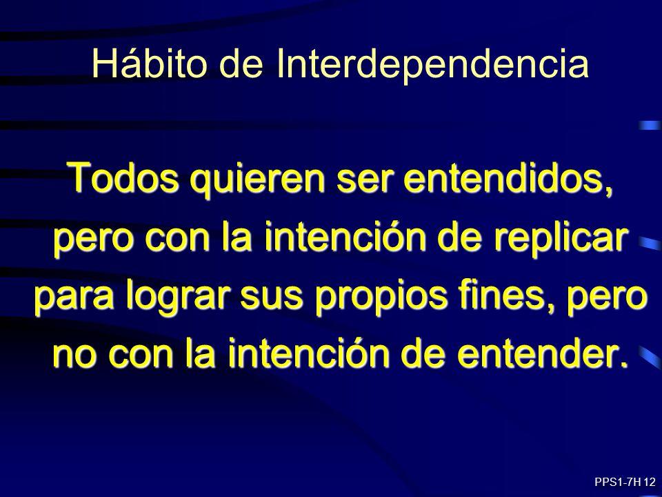 Hábito de Interdependencia