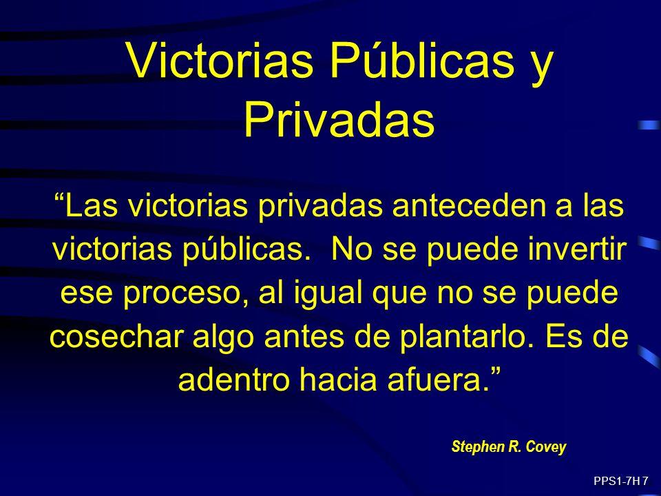 Victorias Públicas y Privadas
