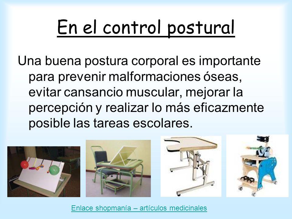 En el control postural
