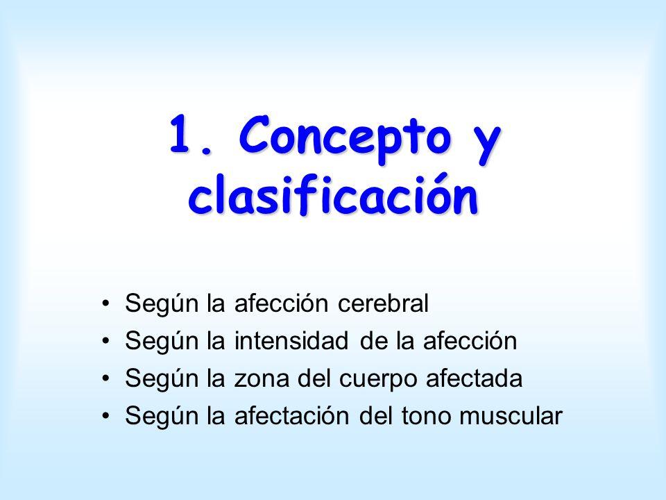 1. Concepto y clasificación