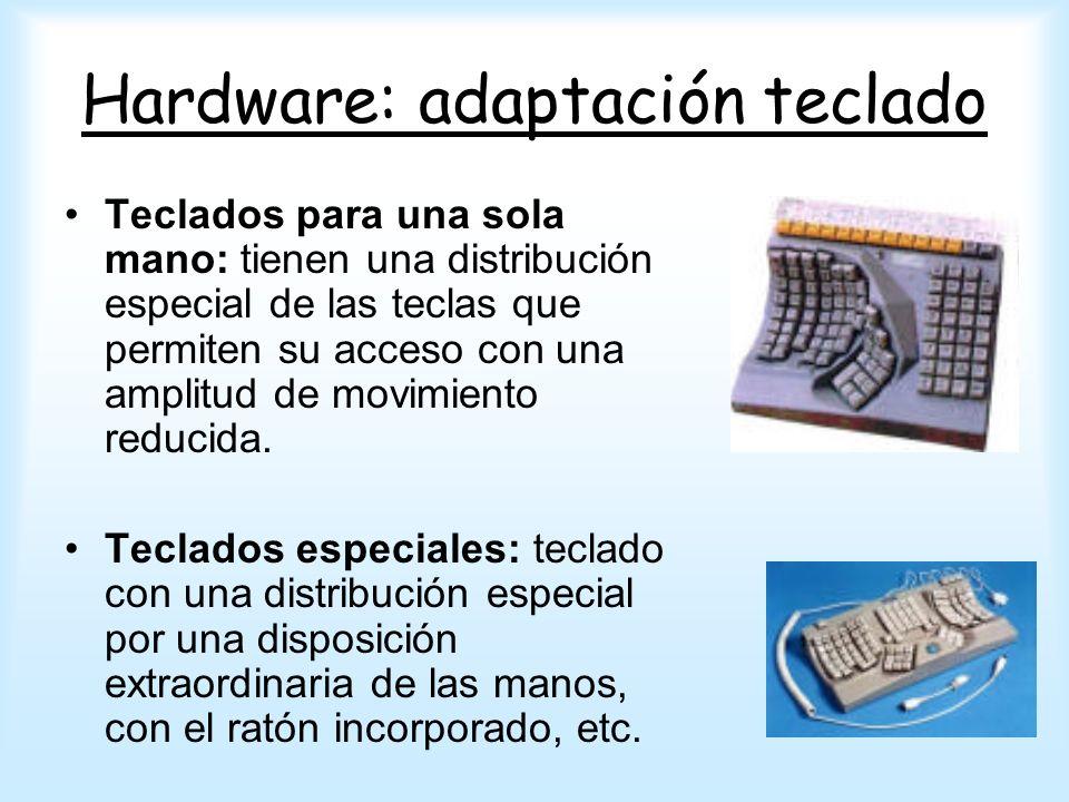 Hardware: adaptación teclado