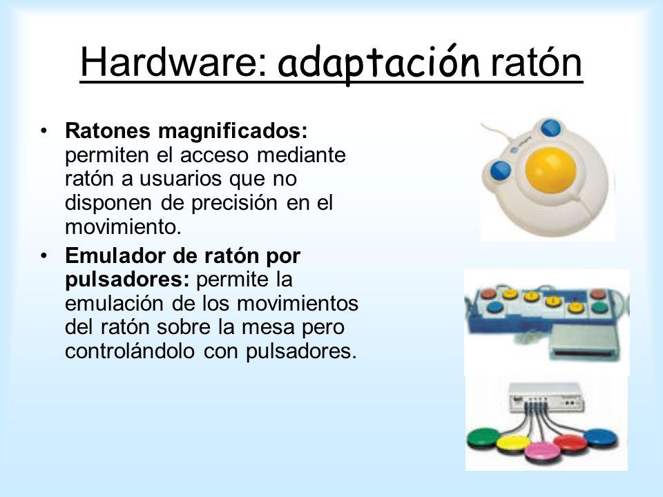 Hardware: adaptación ratón