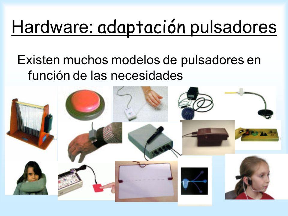 Hardware: adaptación pulsadores