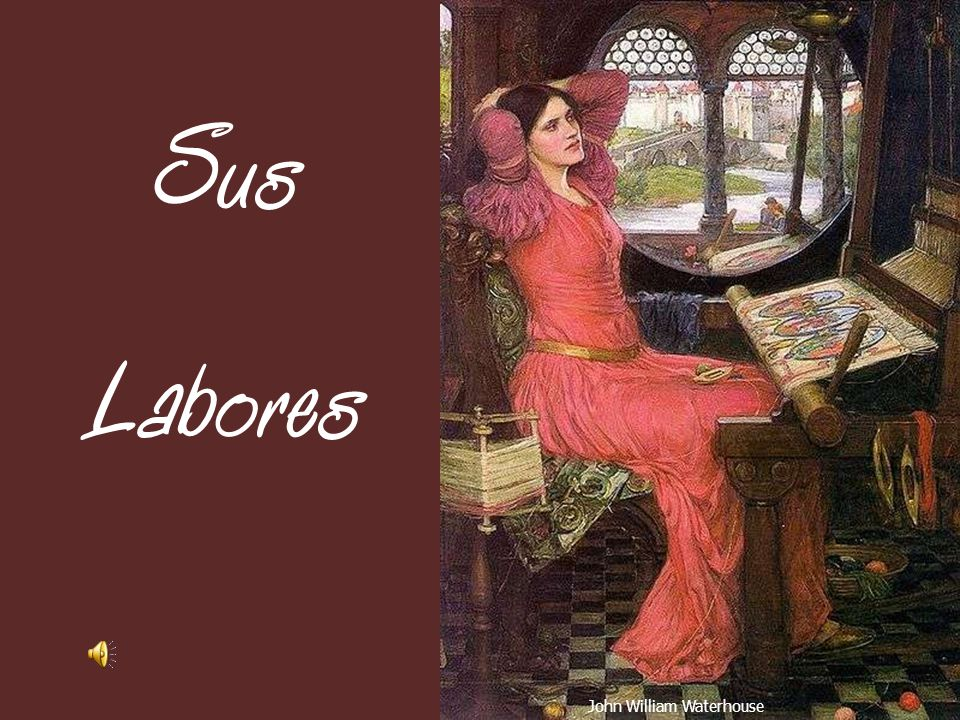 Sus Labores John William Waterhouse
