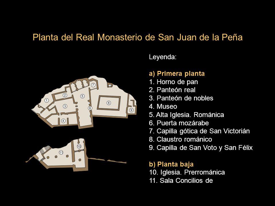 Planta del Real Monasterio de San Juan de la Peña