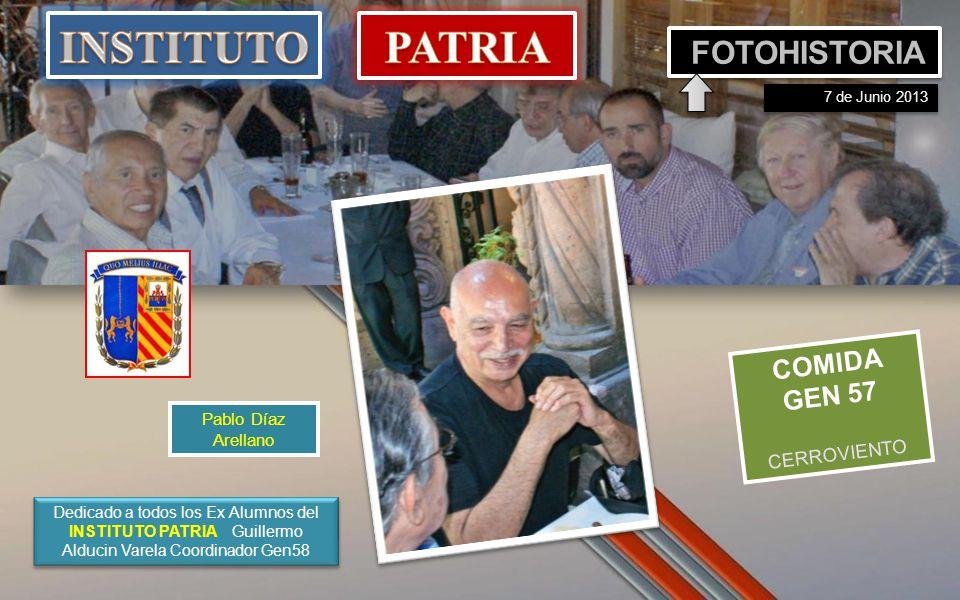 INSTITUTO PATRIA FOTOHISTORIA COMIDA GEN 57 CERROVIENTO