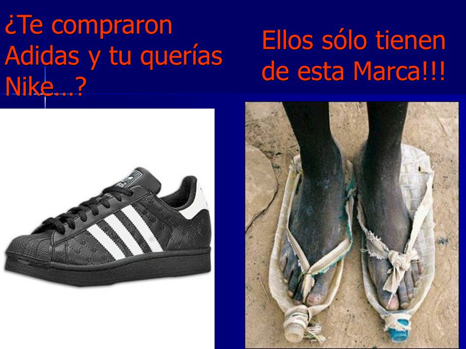 ¿Te compraron Adidas y tu querías Nike…
